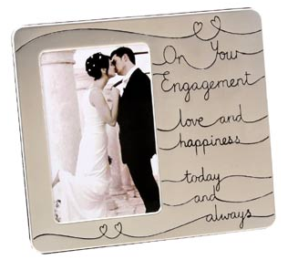 buy picture frame online - Engagement Photo Frame